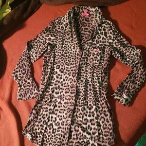 Betsey johnson cute lolita cheetah night dress